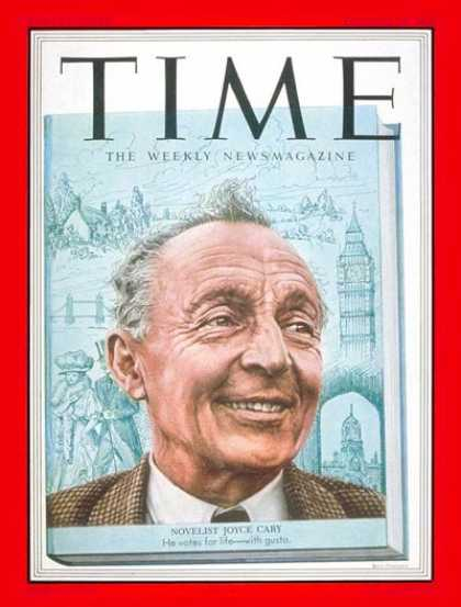 Time - Joyce Cary - Oct. 20, 1952 - Books