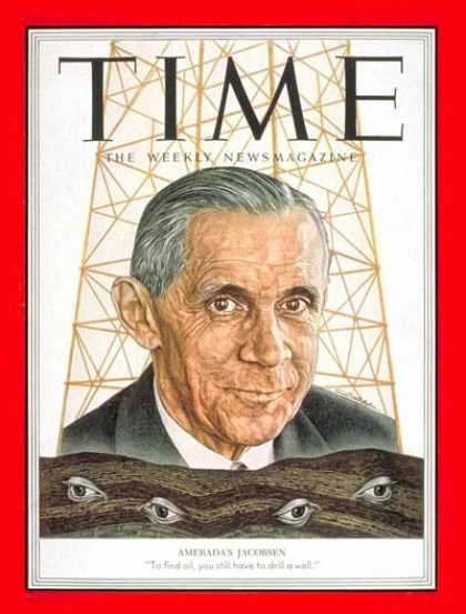Time - Alfred Jacobsen - Dec. 1, 1952 - Energy - Oil - Business