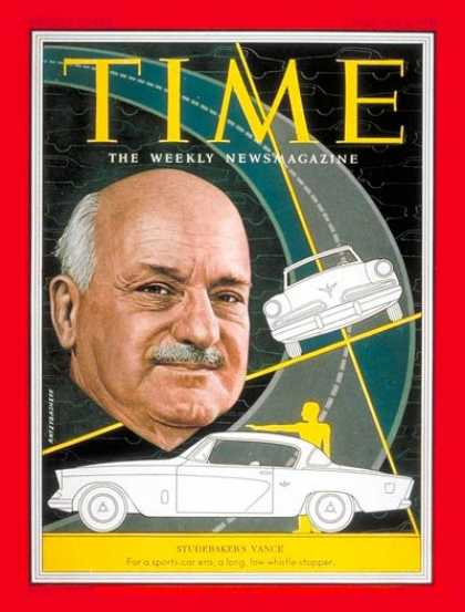 Time - Harold S. Vance - Feb. 2, 1953 - Cars - Business - Automotive Industry