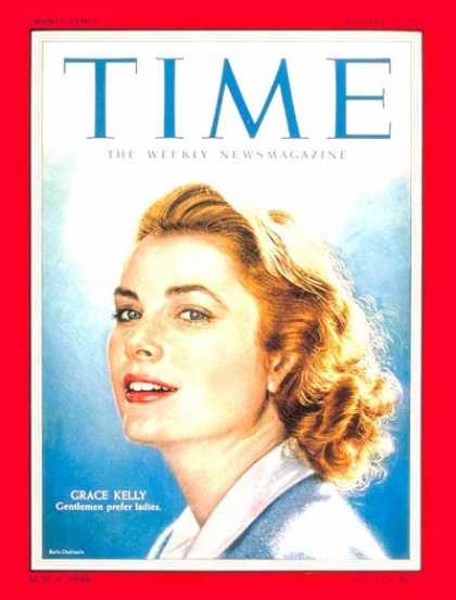 Time - Grace Kelly - Jan. 31, 1955 - Actresses - Most Popular - Movies