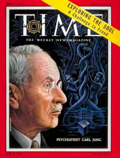 Time - Carl Jung - Feb. 14, 1955 - Mental Health - Psychology - Philosophy - Health & M