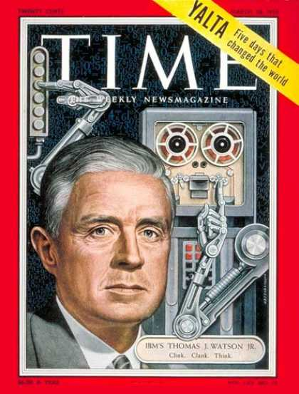 Time - Thomas J. Watson, Jr. - Mar. 28, 1955 - IBM - Business