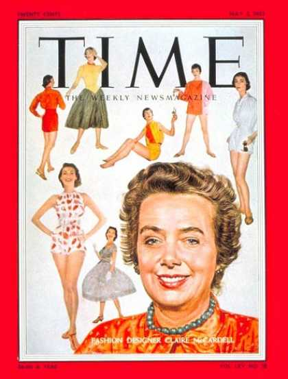 Time - May 2, 1955 - Fashion - Business