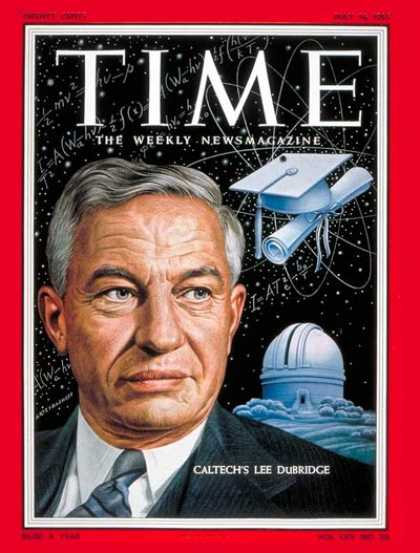 Time - Lee A. Dubridge - May 16, 1955 - Education