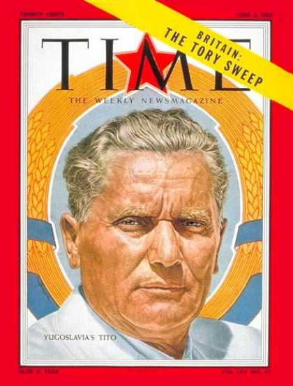 Time - Marshal Tito - June 6, 1955 - Yugoslavia - Military