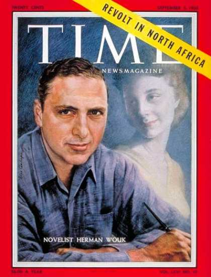 Time - Herman Wouk - Sep. 5, 1955 - Books