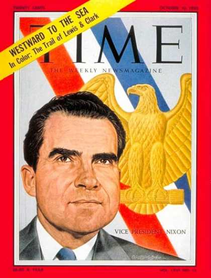 Time - Richard Nixon - Oct. 10, 1955 - Vice Presidents - Politics