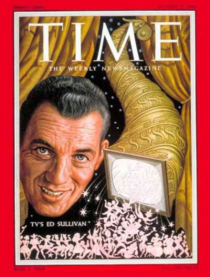 Time - Ed Sullivan - Oct. 17, 1955 - Television - Broadcasting
