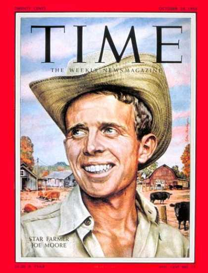 Time - Joe Moore - Oct. 24, 1955 - Agriculture - Business