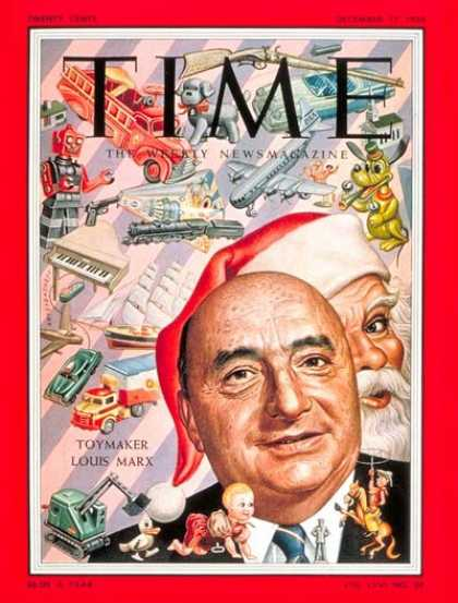 Time - Louis Marx - Dec. 12, 1955 - Business