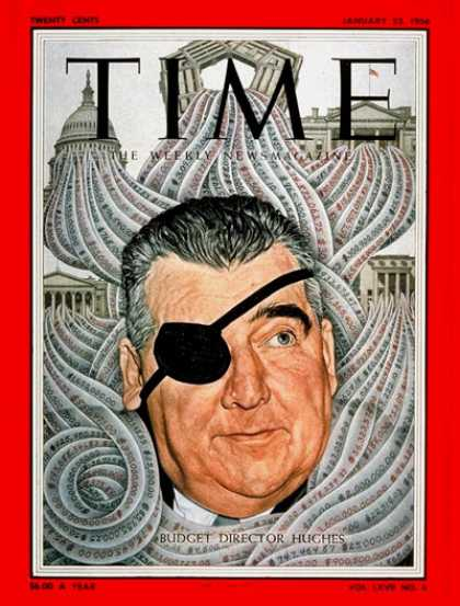 Time - Rowland Hughes - Jan. 23, 1956 - Economy - Politics