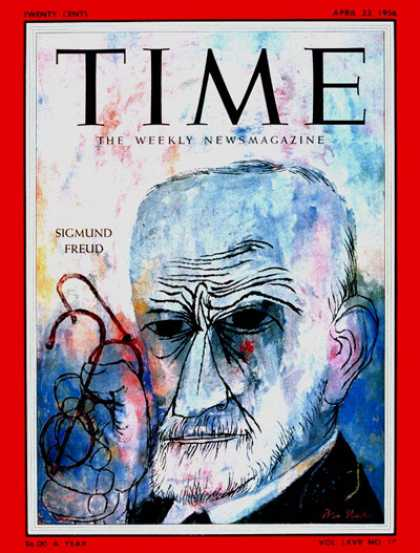 Time - Sigmund Freud - Apr. 23, 1956 - Mental Health - Psychology - Most Popular - Heal