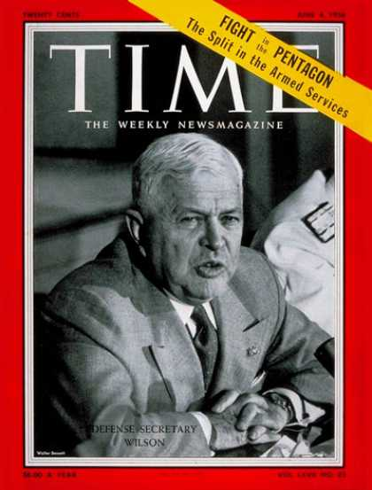 Time - Charles Wilson - June 4, 1956 - Military - Politics