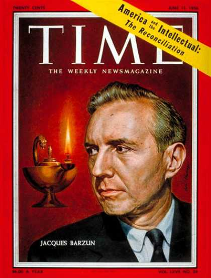 Time - Jacques Barzun - June 11, 1956 - Books