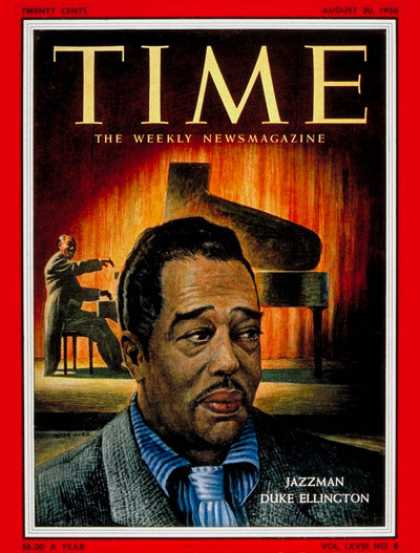 Time - Duke Ellington - Aug. 20, 1956 - Jazz - Music