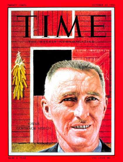 Time - Gov. Leo Hoegh - Oct. 22, 1956 - Governors - Politics