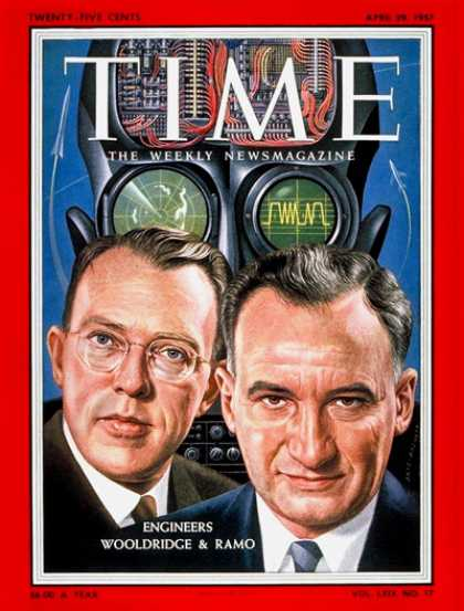 Time - Simon Ramo & Dean Wooldridge - Apr. 29, 1957 - Business
