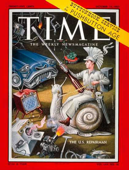 Time - The U.S. Repairman - Oct. 14, 1957 - Society - Business