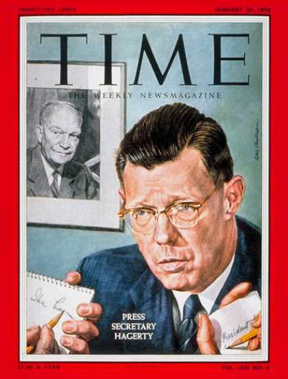 Time - James Hagerty - Jan. 27, 1958 - Military