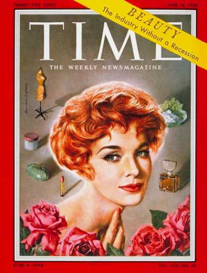 Time - Jean Thorn - June 16, 1958 - Fashion - Business