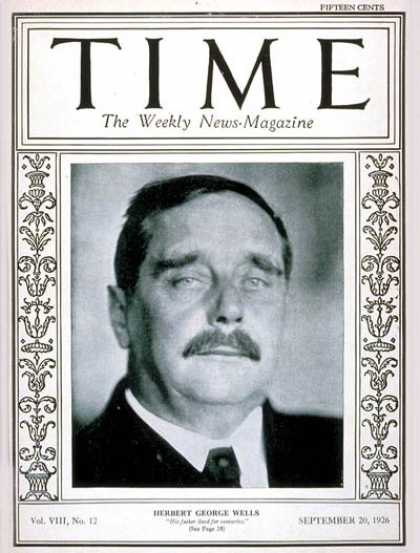 Time - H.G. Wells - Sep. 20, 1926 - Books