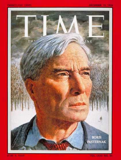 Time - Boris Pasternak - Dec. 15, 1958 - Russia - Books