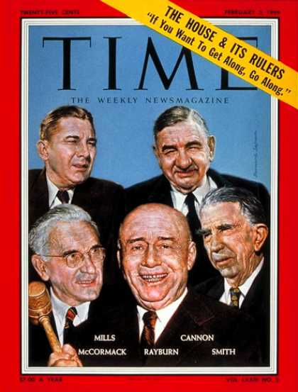 Time - Congressional Leaders - Feb. 2, 1959 - Congress - Politics