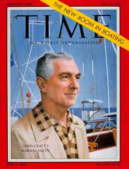 Time - Harsen Smith - May 18, 1959 - Boating - Sports