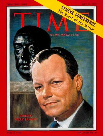 Time - Willy Brandt - May 25, 1959 - Germany