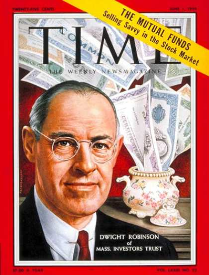 Time - Dwight Robinson - June 1, 1959 - Economy - Banking - Business