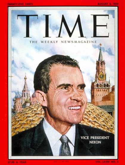 Time - Richard Nixon - Aug. 3, 1959 - Politics