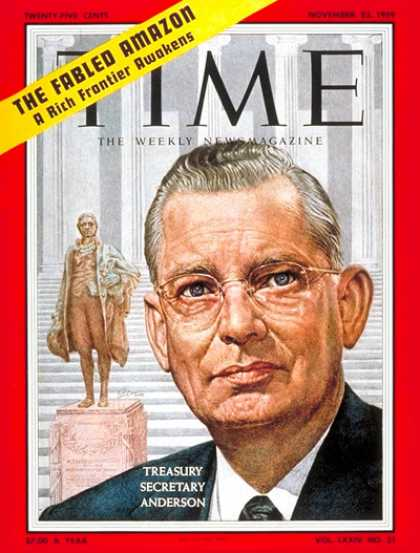Time - Robert Anderson - Nov. 23, 1959 - Politics