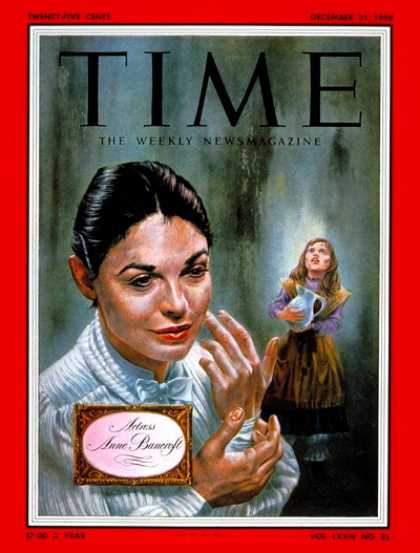 Time - Anne Bancroft - Dec. 21, 1959 - Actresses - Theater - Movies - Broadway