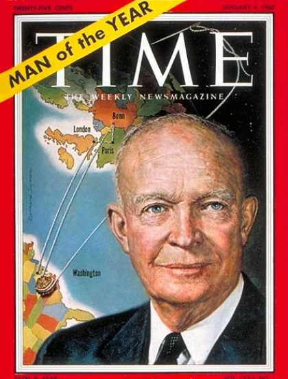 Time - Dwight D. Eisenhower, Man of the Year - Jan. 4, 1960 - Dwight Eisenhower - Perso