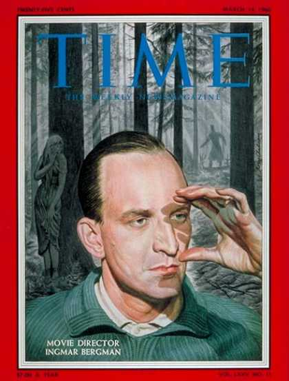 Time - Ingmar Bergman - Mar. 14, 1960 - Directors - Movies