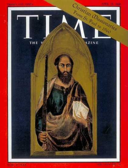 Time - St. Paul - Apr. 18, 1960 - Religion - Christianity