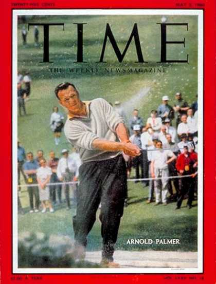 Time - Arnold Palmer - May 2, 1960 - Golf - Most Popular - Sports