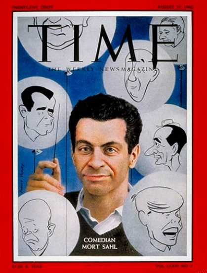 Time - Mort Sahl - Aug. 15, 1960 - Comedy