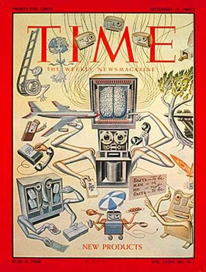 Time - New Products - Sep. 19, 1960 - Business