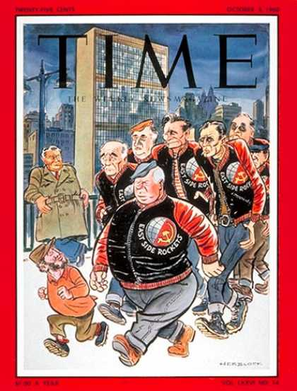 Time - Nikita Krushchev, Satellite Leaders - Oct. 3, 1960 - Nikita Khrushchev - Russia