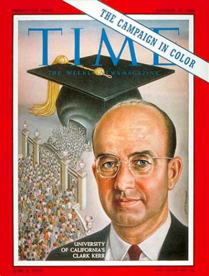Time - Clark Kerr - Oct. 17, 1960 - California - Education - Colleges & Universities