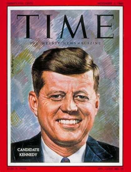 Time - John F. Kennedy - Nov. 7, 1960 - Congress - Senators - Most Popular - Jacqueline