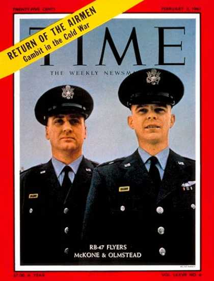 Time - John McKone, Bruce Olmstead - Feb. 3, 1961 - Cold War - Aviation