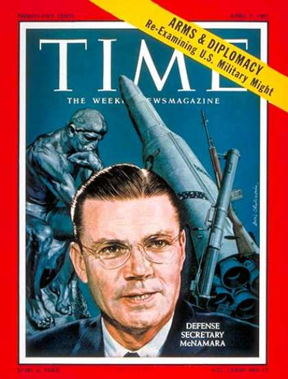 Time - Robert S. McNamara - Apr. 7, 1961 - Vietnam War - Politics