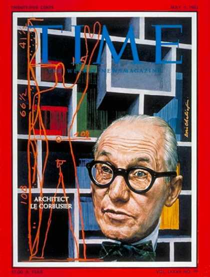 Time - Le Corbusier - May 5, 1961 - Design - Architecture