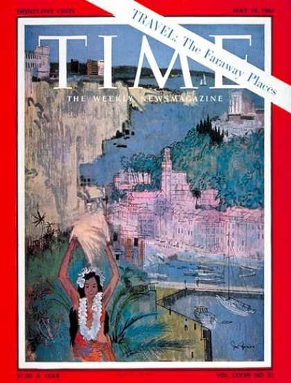 Time - The Faraway Places - May 19, 1961 - Travel