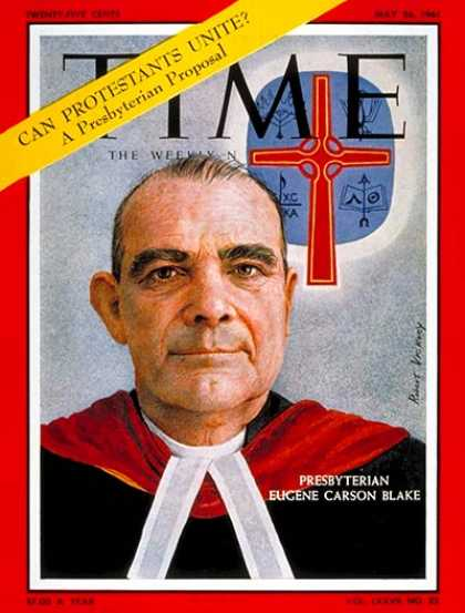 Time - Eugene Carson Blake - May 26, 1961 - Religion - Christianity