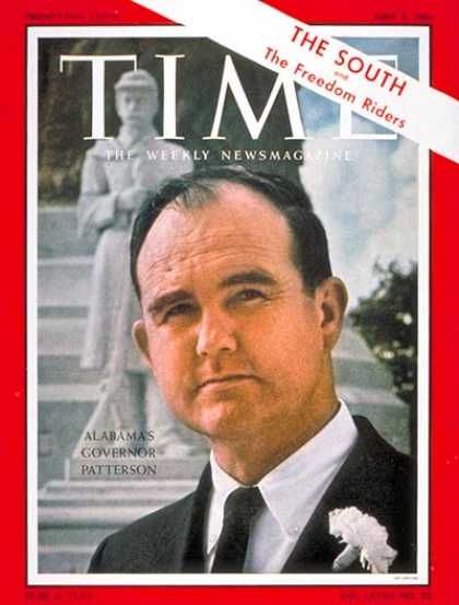 Time - Gov. John Patterson - June 2, 1961 - Governors - Politics