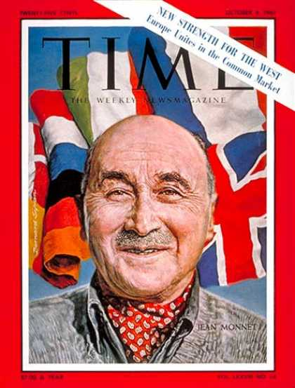 Time - Jean Monnet - Oct. 6, 1961 - Economy