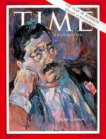 Time - Jackie Gleason - Dec. 29, 1961 - Television - Comedy - Actors - Movies